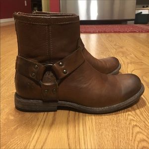 6B/6.5B Phillip Harness Frye Boot Cognac *Reposh